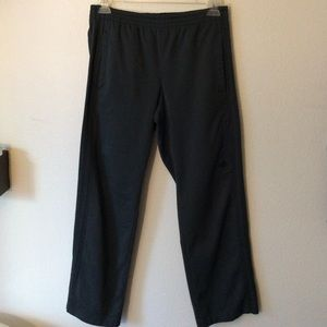 (3 FOR $20 SALE) Grey Striped Adidas Track Pants